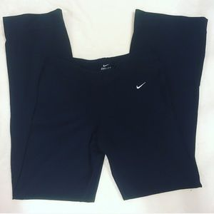 Nike Dri Fit Black Bootcut Yoga Pants